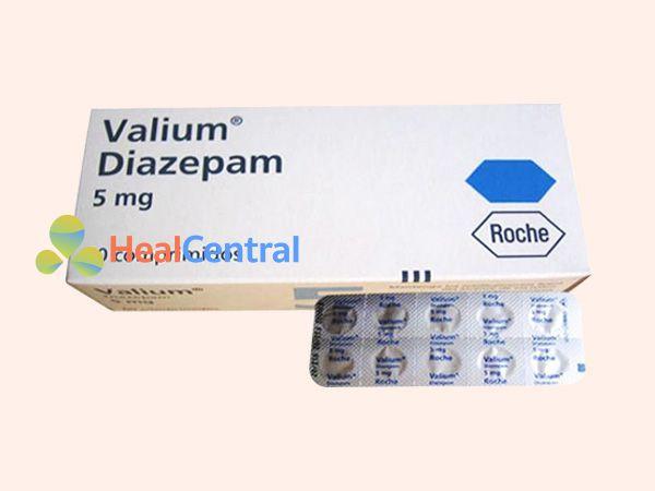 Thuốc Valium chứa Diazepam