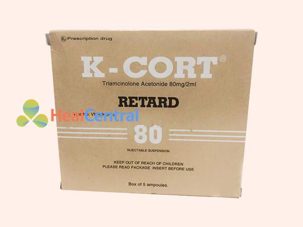 Lọ tiêm trị sẹo K-cort Retard
