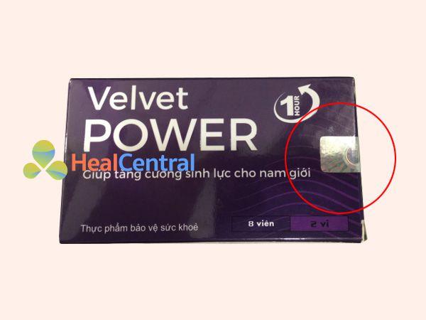 Phân biệt Velvet Power thật - giả