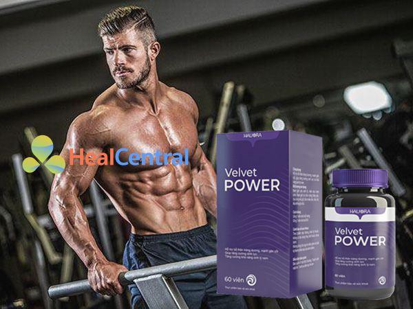 Velvet Power - hỗ trợ tăng cường sinh lý cho phái mạnh
