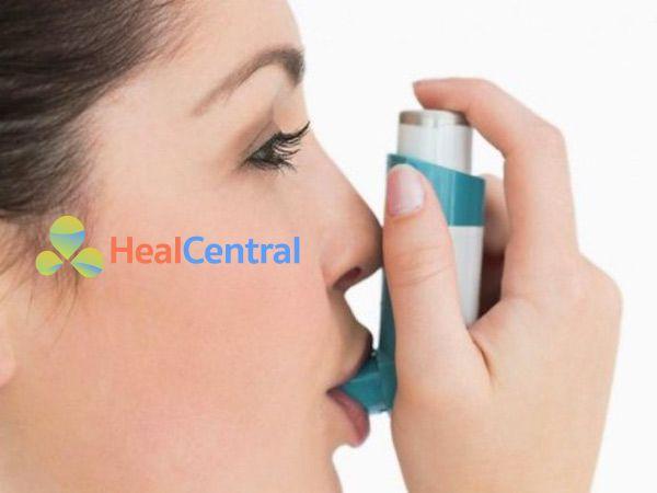 Hình ảnh thuốc Ventolin Inhaler được dùng phổ biến