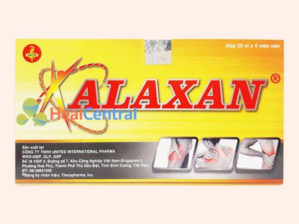 Hình ảnh Alaxan chính hãng