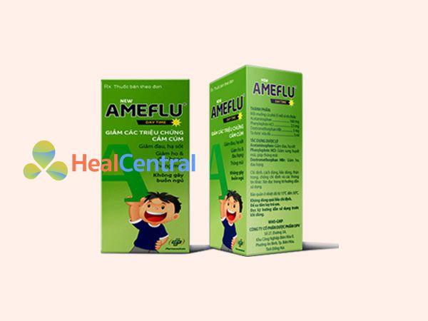 Thuốc trị cảm Ameflu hiện đang được bán tại các nhà thuốc trên toàn quốc