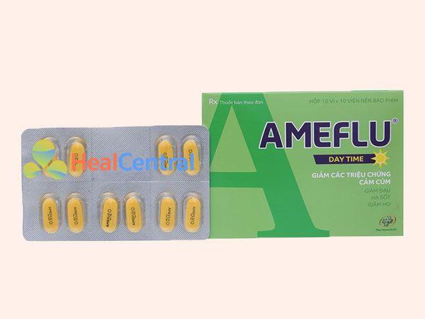 Ameflu là sản phẩm được nhiều người tin dùng lựa chọn