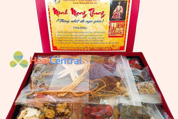 Hình ảnh: Bài thuốc Minh Mạng Thang