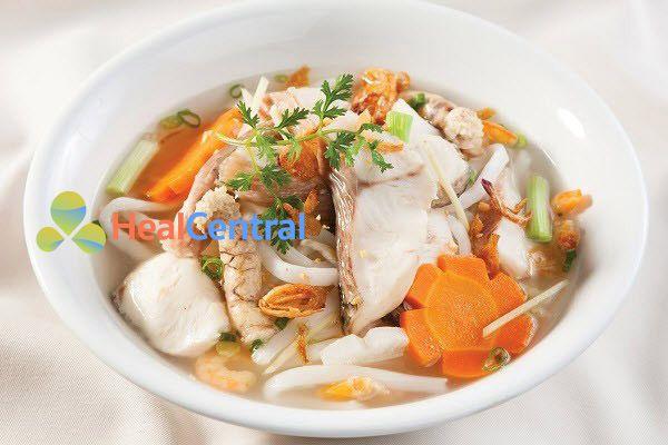 Bánh canh cá lóc