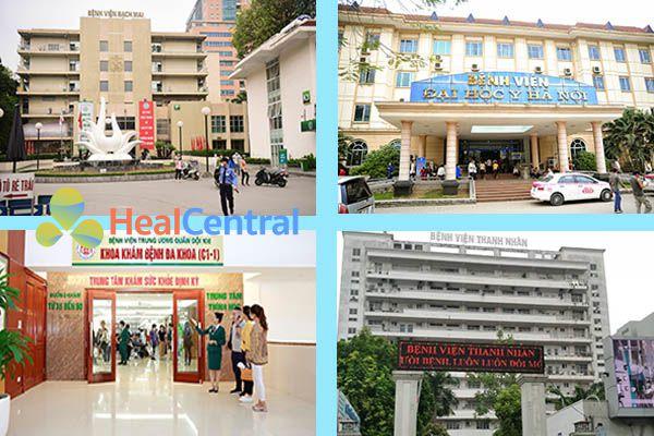 Một số bệnh viện xét nghiệm nhiễm khuẩn Hp tốt nhất