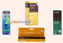 Các dạng thuốc Betadine