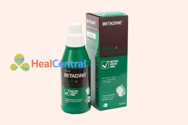 Thuốc súc miệng Betadine 125ml