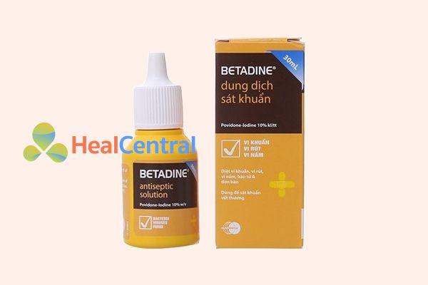 Dung dịch sát khuẩn Betadine 10%