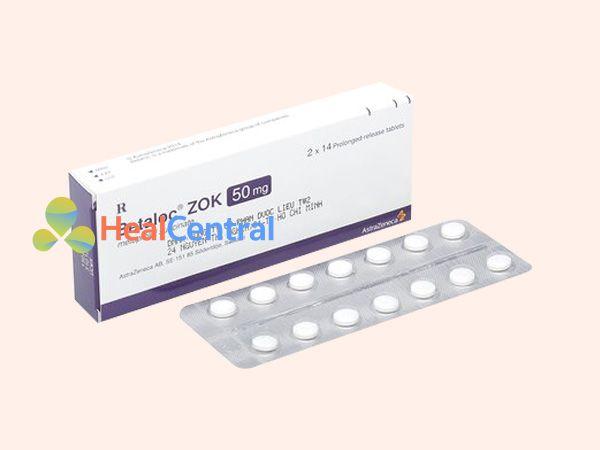Thuốc Betaloc Zok - điều trị cao huyết áp