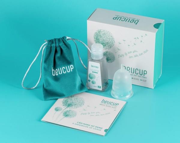 BeU Cup - Cốc nguyệt san thương hiệu Việt, chất lượng quốc tế
