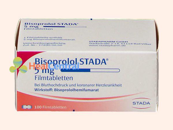 Hình ảnh Bisoprolol Stada 5mg