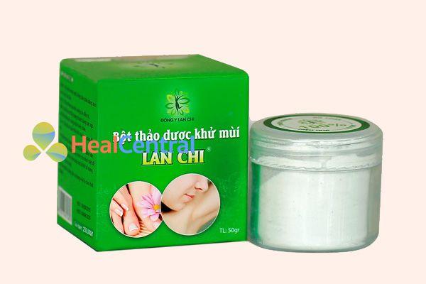 Bột thảo dược khử mùi Lan Chi