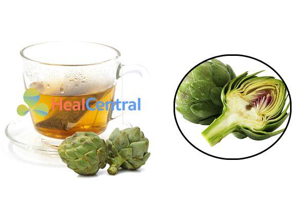 Sử dụng trà Atiso đúng cách