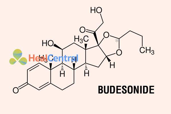 Cấu trúc hóa học của Budesonide