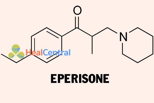 Cấu trúc hóa học của Eperisone
