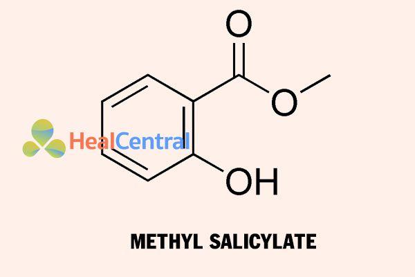 Cấu trúc hóa học của Methyl Salicylate