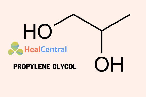 Cấu trúc hóa học Propylene Glycol
