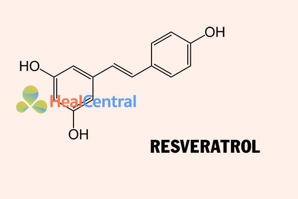Cấu trúc hóa học của Resveratrol