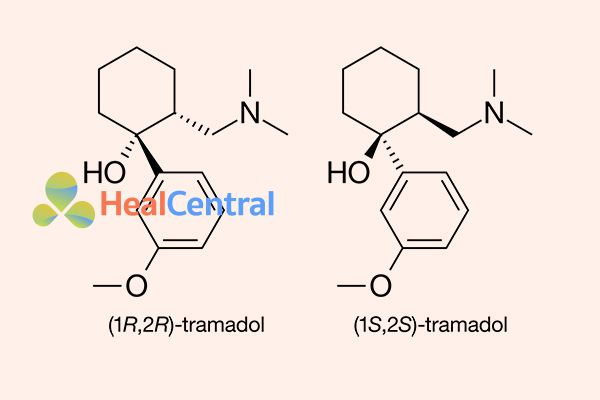 Cấu trúc hóa học của Tramadol