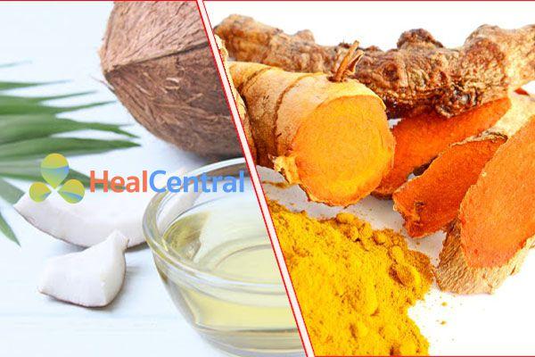 Sử dụng dầu dừa để tăng khả năng hòa tan của Curcumin
