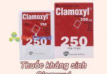 Hình ảnh thuốc Clamoxyl