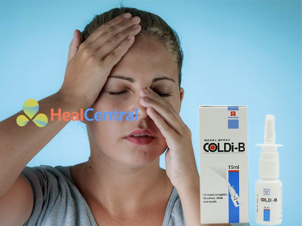 Hình ảnh thuốc Coldi B giúp điều trị sổ mũi hiệu quả