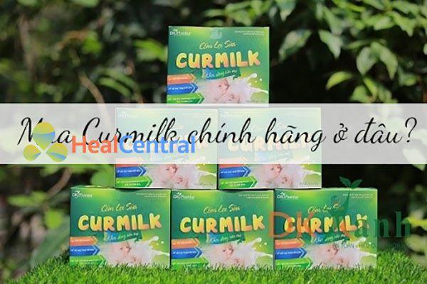 Nên mua Curmilk tại Dược Khoa Xanh để đảm bảo hàng chính hãng