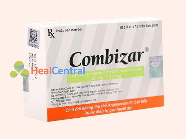 Thuốc Combizar giúp hạ huyết áp hiệu quả