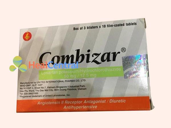 Hình ảnh hộp thuốc Combizar