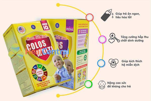 Công dụng của Mama Sữa Non Colos Multi