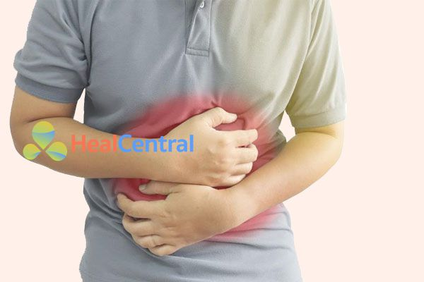 Bệnh nhân bị viêm loét dạ dày tá tràng