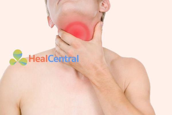 Sau khi nội soi dạ dày có thể bị đau họng