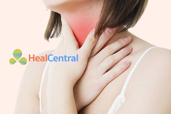 Bệnh nhân bị đau họng khi nội soi dạ dày
