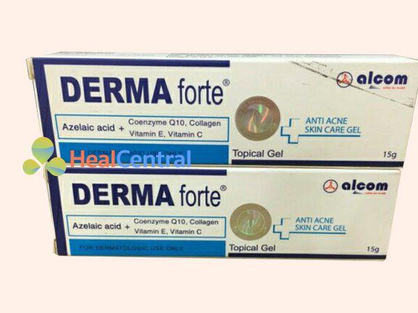 Hình ảnh Kem trị mụn Derma Forte mặt trước