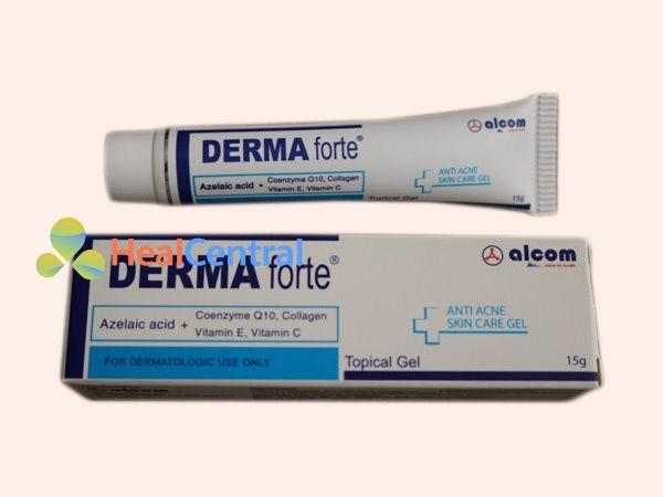 Kem trị mụn Derma Forte giúp trị mụn thâm hiệu quả