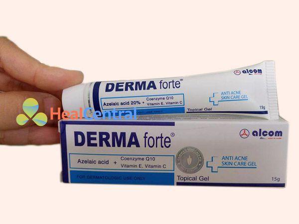 Tương tác Derma Forte với thuốc khác