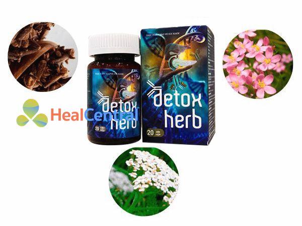 Các thành phần chính của Detoxherb