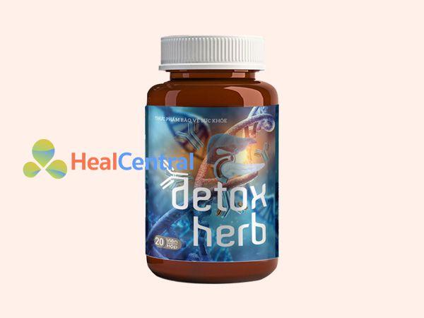 Hình ảnh lọ Detoxherb
