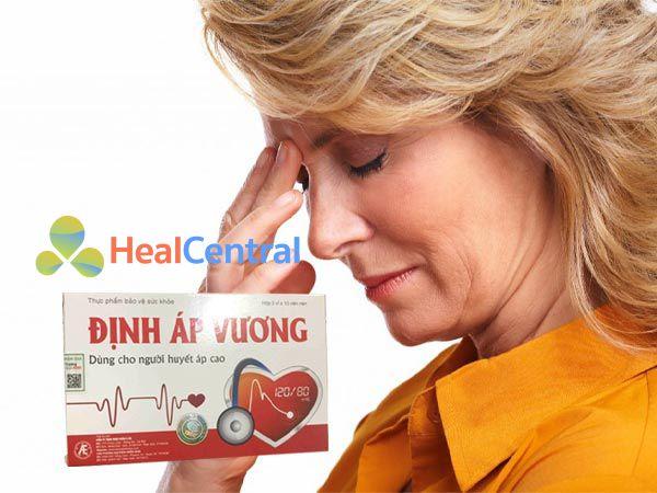 Định Áp Vương giúp điều hòa huyết áp hiệu quả