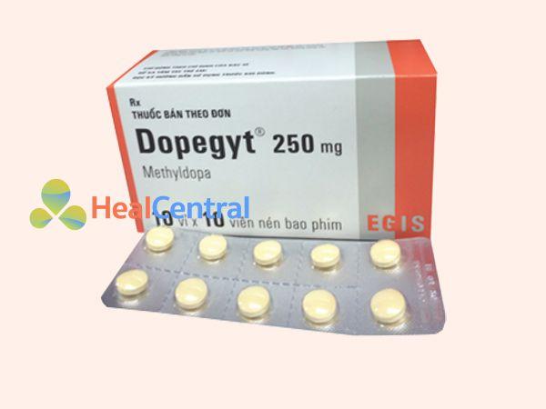 Thuốc Dopegyt giúp hạ huyết áp