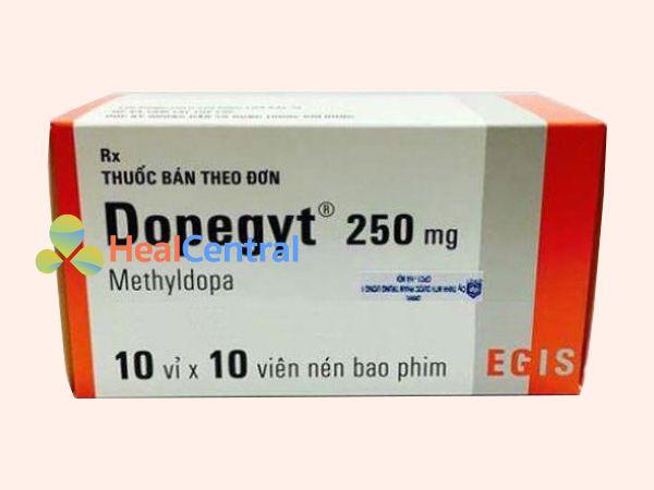 Hình ảnh thuốc Dopegyt mặt trước