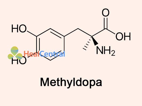 Công thức Methyldopa - thành phần thuốc Dopegyt