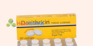 Thuốc Dorithricin dùngđể tiêu diệt các vi khuẩn ở miệng, họng