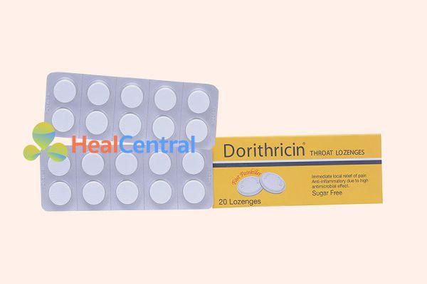 Thuốc Dorithricin hộp 2 vỉ x 10 viên