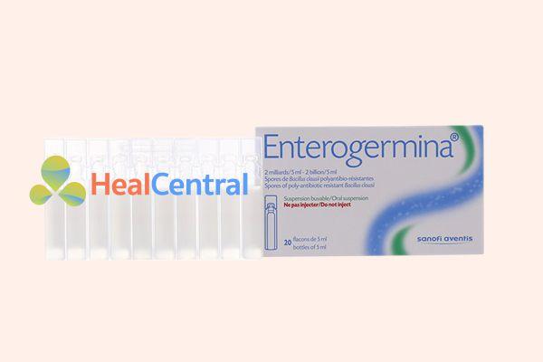 Hình ảnh: Enterogermina hộp 20 ống x 5ml