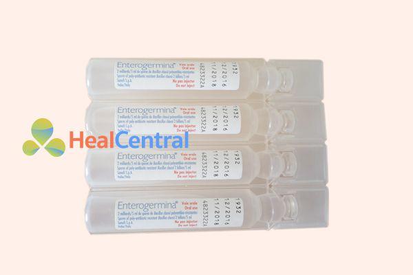 Hình ảnh: ống thuốc Enterogermina