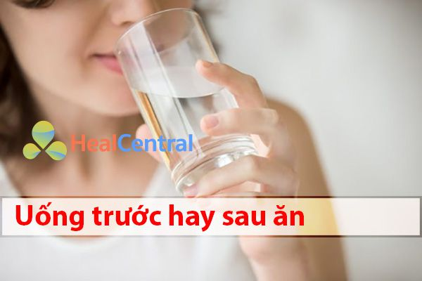 Enterogermina uống trước hay sau ăn?