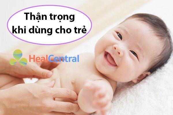 Thuốc Fucicort có dùng cho trẻ sơ sinh?